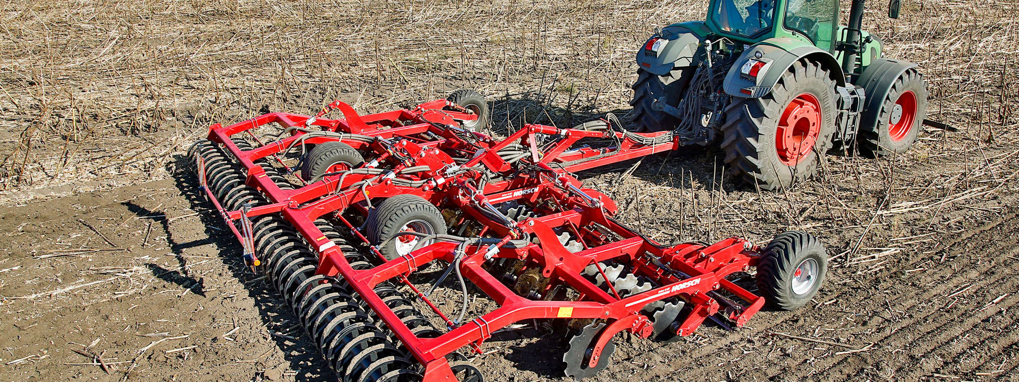 Horsch Joker 8 RT - COMPACT DISC FOR STUBBLE CULTIVATION AND SEEDBED PREPARATION