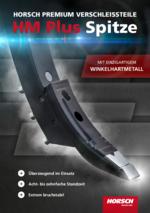 HORSCH PREMIUM wear parts - HM Plus tip with unique angled carbide