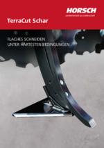 Horsch TerraCut Schar - FLAT CUTTING UNDER THE HARDEST CONDITIONS